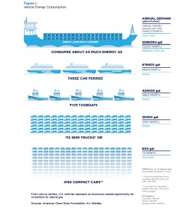Natural Gas for Marine Vessels: A Comparison